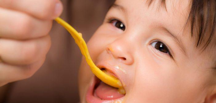 كمية اكل الاطفال المناسبة لكل سن