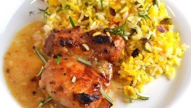 Photo of طريقة عمل ارز بالدجاج والزعفران