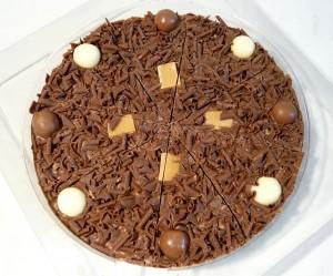 طريقة عمل بيتزا الشوكولاتة