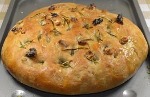 طريقة عمل خبز الفوكاشا الايطالي