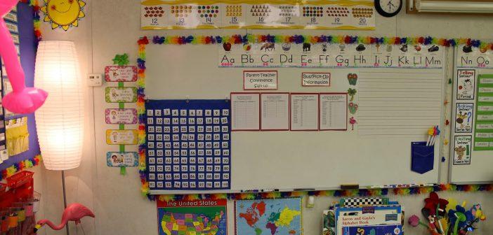 افكار لتزيين الفصول المدرسيه بالصور