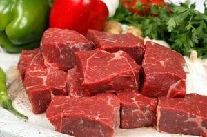 السائل الاحمر في اللحوم الحمراء ليس دمًا!