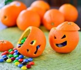 البرتقالة الفنية أفكار من البرتقال