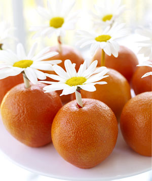 البرتقاله الفنية أفكار من البرتقال