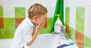 تعليم الطفل النظافة الشخصية