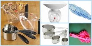 المكاييل والموازين في مطبخك وكم تساوي بالكوب والملاعق بسهولة ودقة