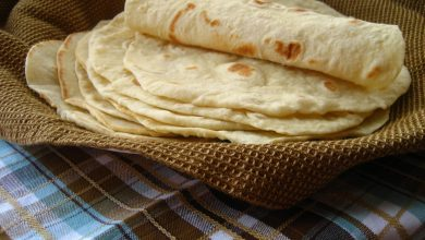 Photo of طريقة عمل خبز التورتيلا بالصور وطريقة حشوة الدجاج الرهيبة