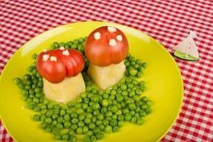 طرق إدخال الخضروات فى وجبات الاطفال