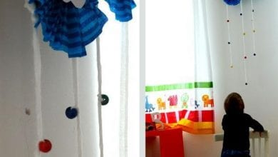 Photo of فكرة لعمل شمس وسحاب ديكور لغرفة الاطفال بالصور
