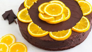 Photo of طريقة عمل كيكة الشوكولاتة بعصير البرتقال