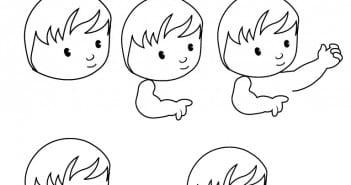 طرق مختلفة لرسم طفل