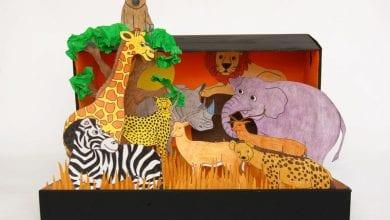 Photo of طريقة عمل حديقة حيوانات بالورق المقوى خطوة بخطوة بالصور
