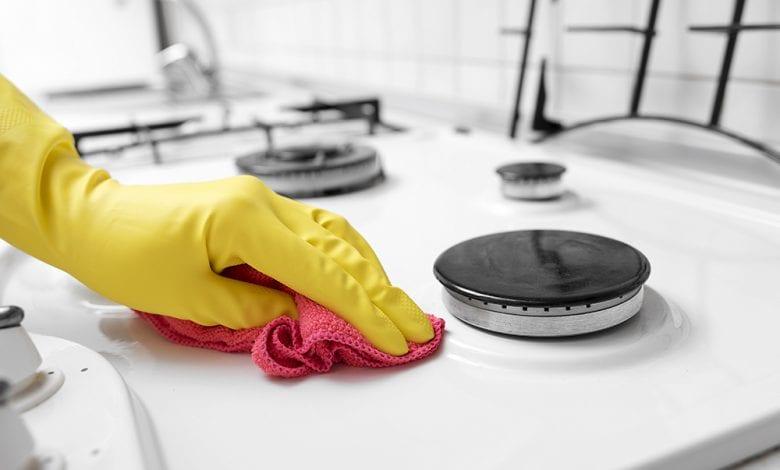 طريقة تنظيف البوتجاز بسهولة