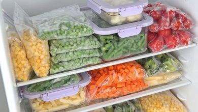 Photo of تخزين الاطعمة في الفريزر والحصول على أفضل نتائج تجميد للأطعمة