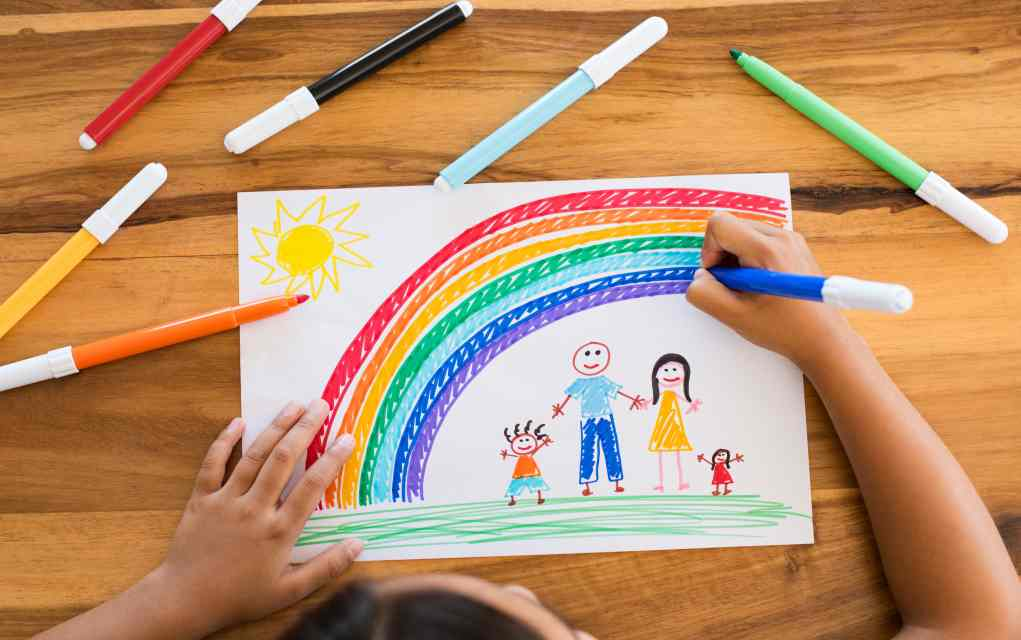تعليم الاطفال الوان قوس قزح بالصور تنمية مهارات الطفل فورنونو
