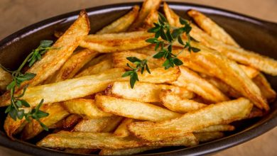 Photo of بطاطس محمرة دايت بنفس طعم البطاطس العادية
