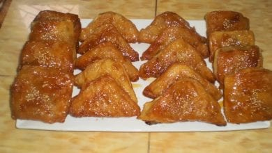 Photo of حلويات مقلية معسلين سهلة و سريعة بالصور