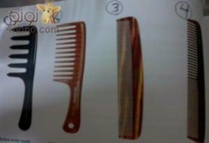 انواع امشاط الشعر وطرق إستخدامها للحفاظ على الشعر
