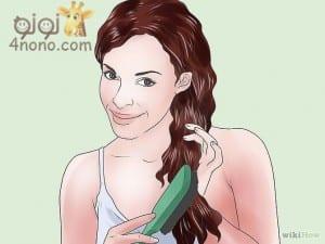 نصائح للتخلص من قشرة الشعر بالطرق الطبيعية بالصور