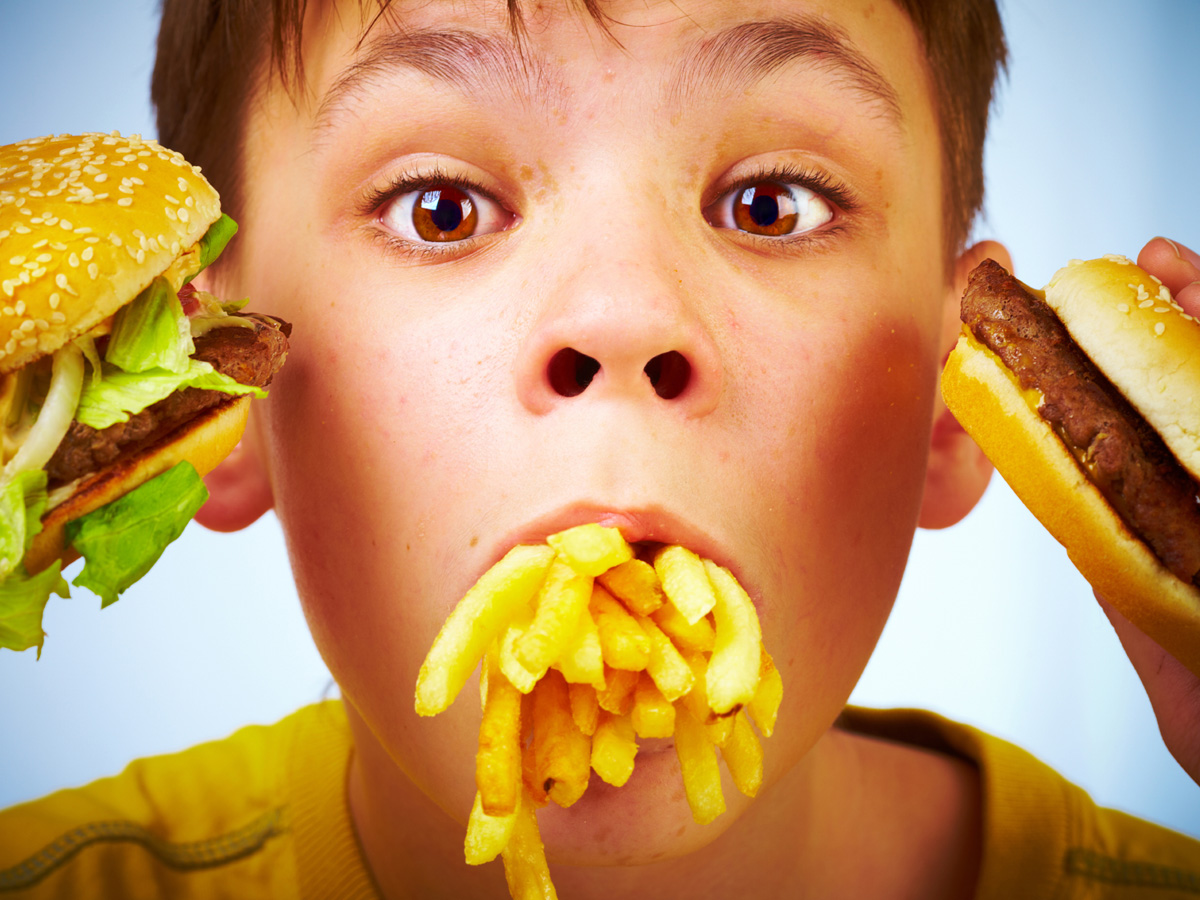 Photo of إدمان الأطفال على وجبات مطاعم الوجبات السريعة
