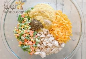 فطائر الخضروات و افكار جميلة لبدائل ساندوتش المدرسة