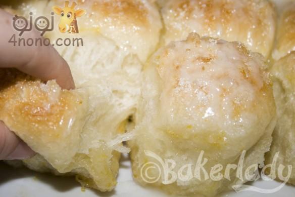 Photo of طريقة عمل خبز الليمون بصوص الليمون بالصور