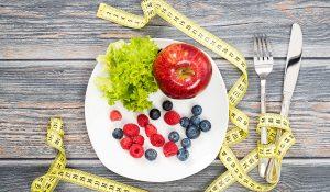 التحكم في الوجبات لخسارة الوزن