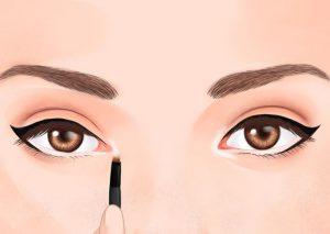 حيل تكبير العيون الضيقة
