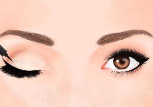 حيل لتوسيع العين الصغيرة لتبدوا كبيرة