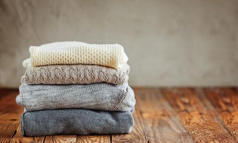 طريقة تنظيف الملابس الصوف والأعتناء بها