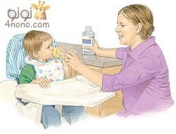 علاج الجفاف عند الطفل
