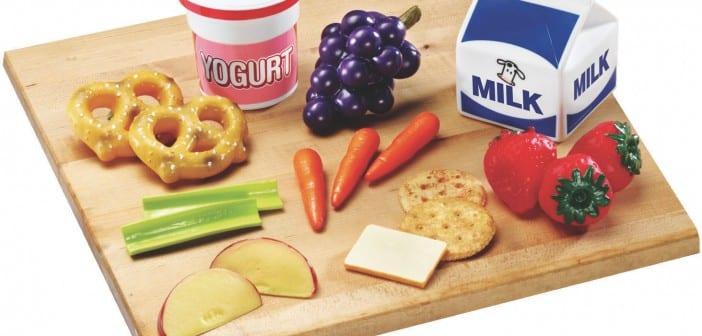 السناكس والتغذية الصحية للأطفال