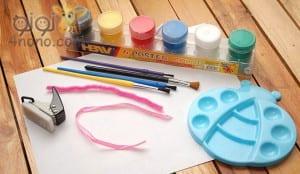 """تعليم الطفل الطباعة المزدوجة """" طريقة شيقة لتعلمي طفلك الرسم """""""