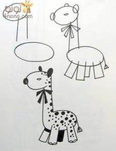 تعليم الرسم بخطوات سهلة ورسومات متنوعة