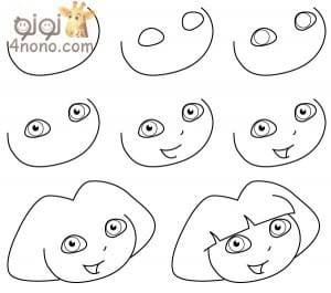تعليم الطفل الرسم بخطوات سهلة ورسومات متنوعة