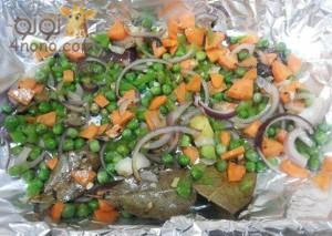 طريقة عمل ورقة الفراخ بالخضروات بالخطوات مصورة