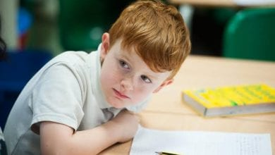 Photo of الاخطاء الاملائية للطفل قد تكون من اسباب ضعف النظر