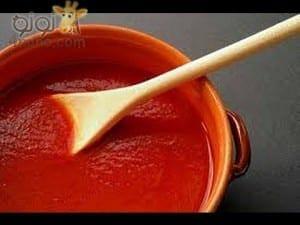 طريقة عمل معجون الطماطم بالبيت لأحلى وصفات الطبخ