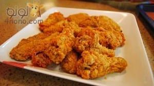 طريقة عمل دجاج كنتاكى