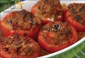 طريقة عمل محشي الطماطم بالدجاج
