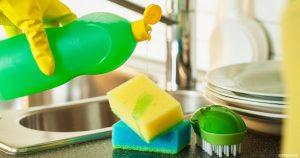 استخدامات لمنظف الاطباق لا تتوقعيها في المنزل