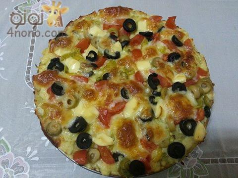Photo of طريقة عمل بيتزا البطاطس بالجبنة والخضار بالصور