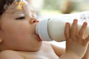 كل ما يتعلق ببرونة الحليب في الرضاعة الصناعية