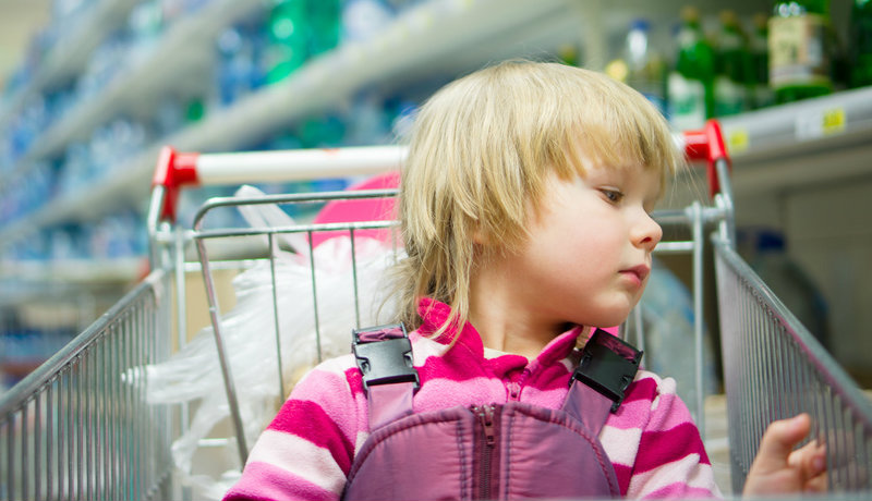Photo of فكرة رائعة للسيطرة على الاطفال اثناء التسوق في السوبر ماركت