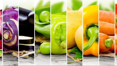Photo of خمسة اطعمة مفيدة ملونه احرصى ان تكون على سفرتك كل يوم
