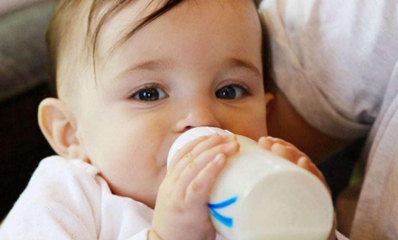 اعراض وعلاج حساسية الحليب عند الطفل