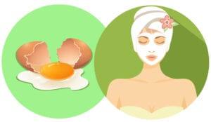 فوائد البيض لتفتيح الوجه وترطيبه