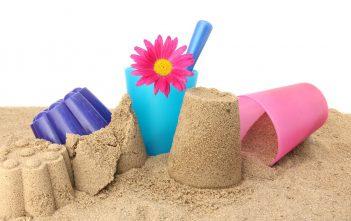 لعبة فوم الرمل للاطفال بمكونين فقط
