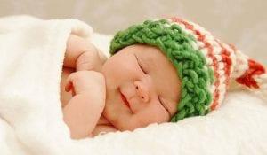 نوم الاطفال حديثي الولادة