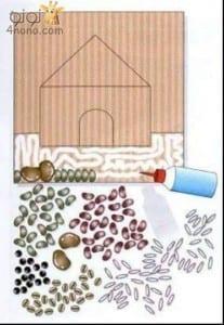 تعليم الطفل انواع الحبوب